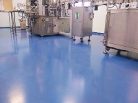 Self-leveling floor in the pharmaceutical industry